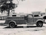 Van Pelt Fire Engine, just before delivery.
