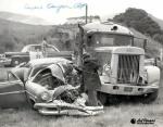1950's - crash on Crow Canyon Road, Stan Silva responding.