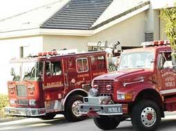 Fairview Fire Department Trucks