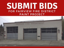 FIRE STATION PAINT PROJECT